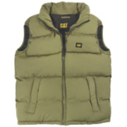 Cat C430 Bodywarmer Olive Large 42-44