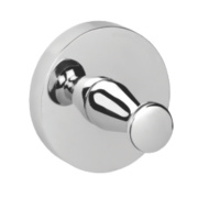 Croydex Flexi-Fix Pendle Robe Hook Chrome 54 x 45 x 54mm