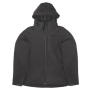 Site Willow Soft Shell Jacket Black X Large 46-48