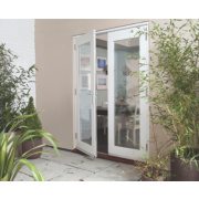 Jeld-Wen Wellington Fully Finished French Doors Satin Silver 1200 x 2100mm