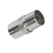 Labgear Metal Coax Coupler Pack of 10