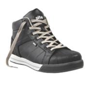 Site Shale Hi-Top Safety Boots Black Size 11