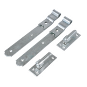 Gate Hinge Spelter Galvanised 50 x 300 x 140mm