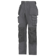 Snickers Rip-Stop Pro-Kevlar Floorlayer Trousers Grey/Black 35