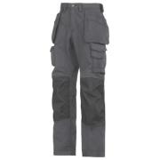 Snickers Rip-Stop Pro-Kevlar Floorlayer Trousers Grey/Black 35