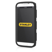 Stanley Foreman Galaxy S4 Mobile Phone Case & Holster Black & Yellow