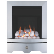 Valor Valor Seattle Gas Fire Brushed Steel Inset kW