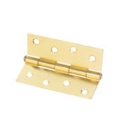 Steel Loose Pin Hinges Electro Brass 102 x 40mm Pack of 2