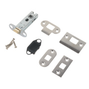 Carlisle Brass Tubular Mortice Latch Nickel-Plated 76mm