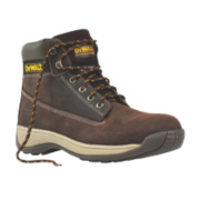 DeWalt Apprentice Safety Boots Brown Size 8