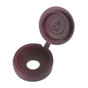 Snap Caps Brown Polypropylene 6-8ga Pack of 100