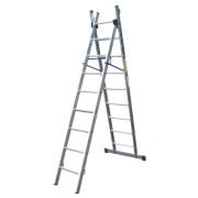 Lyte SF2CL9 Aluminium Alloy Combination Ladder 9 Rungs 4.38m