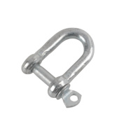 Hardware Solutions D-Shackle M5 Zinc-Plated Pack of 10