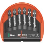 Wera Impaktor Mini-Check Bits PZ ¼