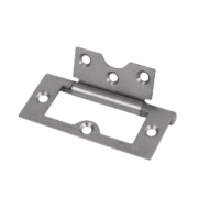 Flush Hinge Self-Colour 33 x 76mm
