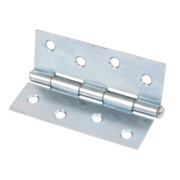 Steel Loose Pin Hinges Zinc-Plated 102 x 40mm Pack of 20
