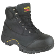 Dr Marten Heath Safety Boots Black Size 7