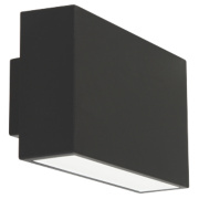 Ranex Ebony Black Wall Light