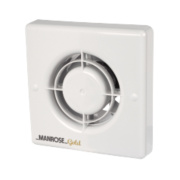 Manrose MG100T 20W Gold Standard Axial Bathroom Extractor Fan w/Timer