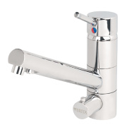 Brita Sano WD 3010 -Way Sink-Mounted Mono Mixer Kitchen Filter Tap Chrome