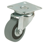 Rubber Tyres Swivel 100mm Pack of 4