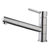 Swirl Essential Pull-Out Mono Mixer Kitchen Tap Chrome