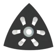 Bosch AVI 93 G Delta Sanding Plate 93mm