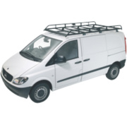 Rhino R514 Modular Rack Low Roof & Tailgate LWB/Mercedes