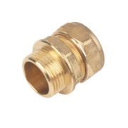 Male Coupler 22mm x ¾
