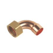 End Feed Bent Tap Connector 15mm x ½