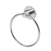Swirl Cirque Bathroom Towel Holder Ring Chrome-Plated 150 x 5 x 174mm