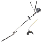 Titan TTL488GDO 25cc 1.07hp Bent Shaft Petrol 2-in-1 Grass & Hedge Trimmer