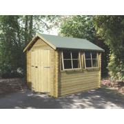Solway 2 Log Cabin 2.9 x 2.9 x 2.6m