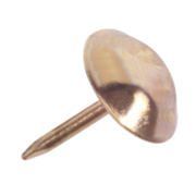 Upholstery Pins Brassed x 13mm Pack of 100