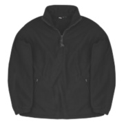 Site Pine Half-Zip Fleece Black X Large 46-48