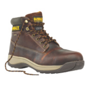 DeWalt Apprentice Galactic Safety Boots Tan Size 10