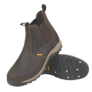 DeWalt Radial Dealer Safety Boots Brown Size 8
