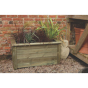 Forest Bamburgh Planter Natural 1 x 0.5 x 0.5m