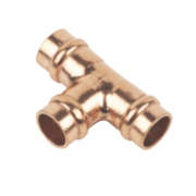 Solder Ring Equal Tee 8mm