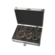 Titan Diamond Grit-Edged Holesaw Kit 11 Pieces