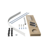 Universal Quad Easy Plumb Kit White