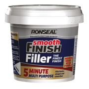 Ronseal 5 Minute Multipurpose Ready-Mixed Filler White 290ml
