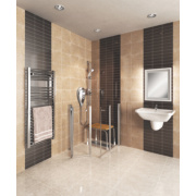 AKW Narvello Duo Care Bi-Fold Shower Door 1000 x 1000 x 900mm