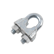 Wire Rope Fixings M6 Zinc-Plated Pack of 10