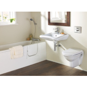 Classic Bathroom Suite with Acrylic Walk-In Bath for Elderly & Disabled RH