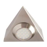 Robus R3011 Triangular Cabinet Downlight Brushed Chrome