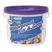 Mapei Waterproof Fix & Grout White 7.5kg