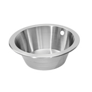 Pyramis Royal Mini Kitchen Sink Stainless Steel 1 Bowl 356mm