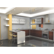 Apollo Slab Tech Crushed Cotton Splashback 3000 x 500 x 20mm