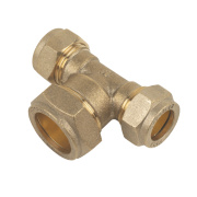 Compression Reducing Tee 15 x 15 x 22mm
